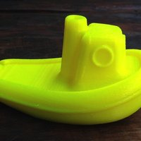 Small Toy Tugboat 3D Printing 52462