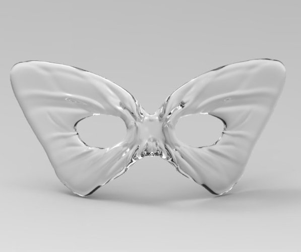 Masquerade - ButterFly Mask 1 3D Print 52526