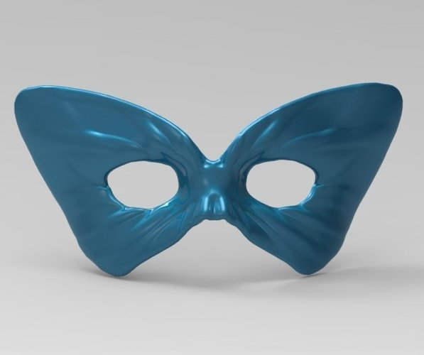 Masquerade - ButterFly Mask 1 3D Print 52529