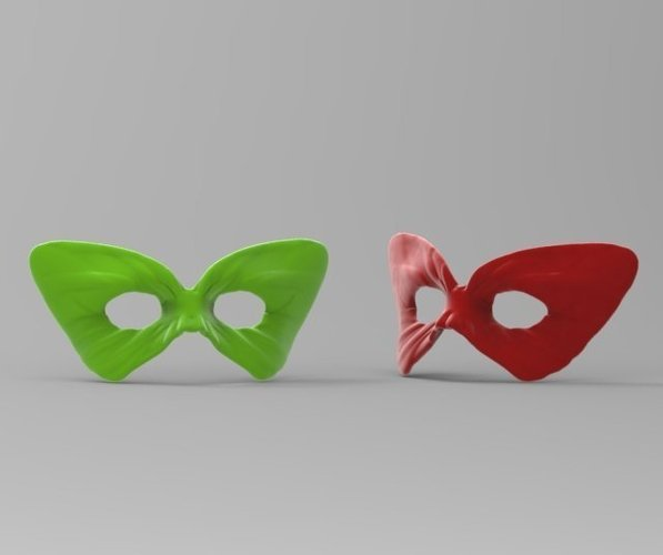 Masquerade - ButterFly Mask 1 3D Print 52534