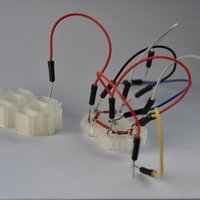 Small 7 segment display 3D Printing 52569