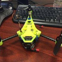 Small mini tricopter 3D Printing 52581