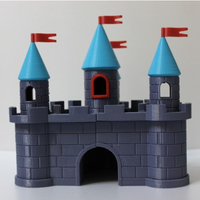 Small castle 2 3D Printing 5260