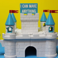 Small castle 1 3D Printing 5261