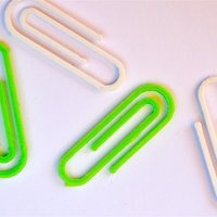 Small paperclip 3D Printing 52699