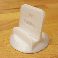 Small Galaxy S6 TV Holder 3D Printing 53028