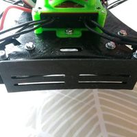 Small Spyda battery mount.  3D Printing 53168