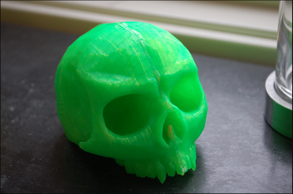 Medium Skull shift knob 3D Printing 53213