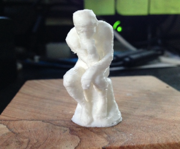 Medium The Thinker 3D Printing 53269