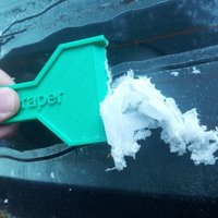 Small Ice Scrapper 3D Printing 53272