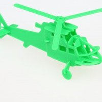 Small Helicopter Puzzle 3D Printing 53380