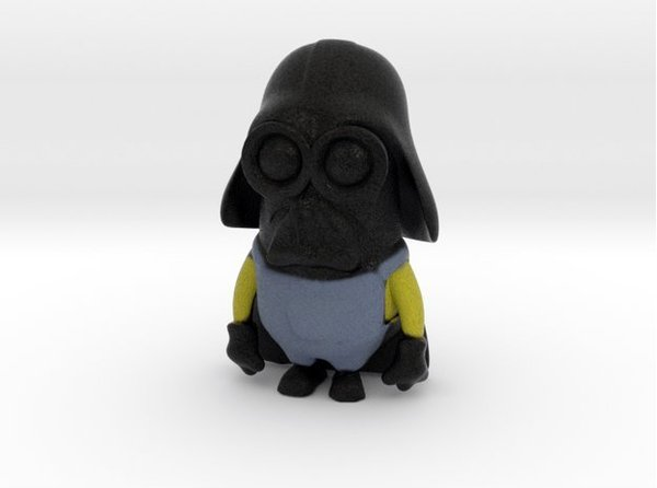 Medium Darth Minion 3D Printing 53488