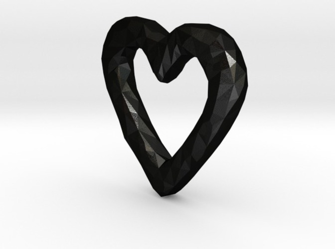 Rough Heart 3D Print 5350