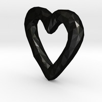 Small Rough Heart 3D Printing 5350