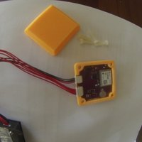 Small GPS/Magnetometer enclosure for T4 Quad 3D Printing 53514