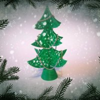 Small Christmas Tree upgrate. 3D Printing 53545