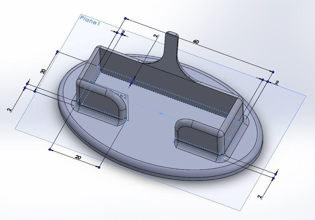 3D Printed Card Holder - Bang by Jorlack | Pinshape