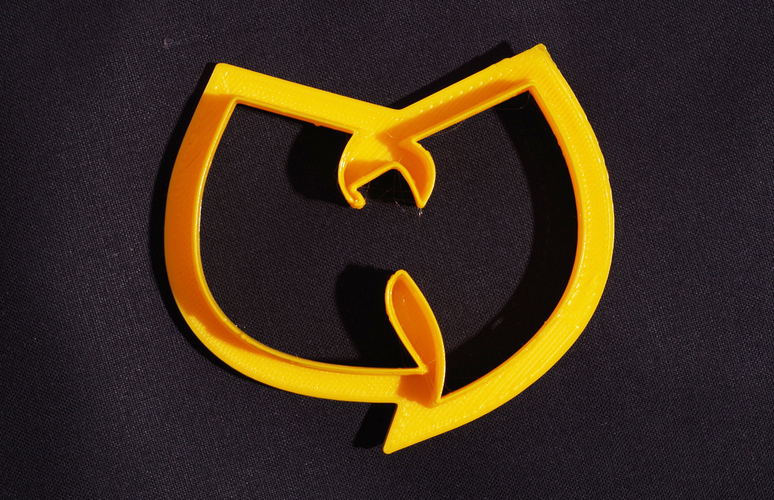Wu-Tang Cookie Cutter 3D Print 536