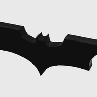 Small Batman - low poly  3D Printing 53712