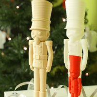 Small Christmas Nutcracker from Dream 3D 3D Printing 53822