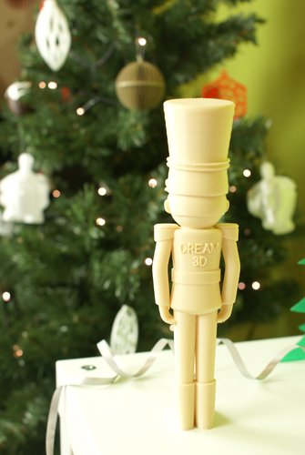 Christmas Nutcracker from Dream 3D 3D Print 53825