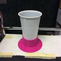 Small High-End Anti-Tilt device for plastic cups 3D Printing 53830