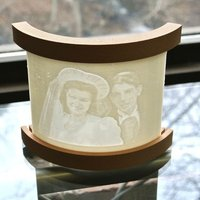 Small Lithophane Stand 3D Printing 54016