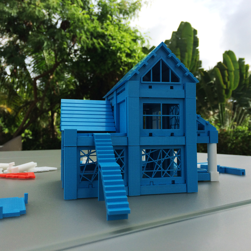 ​Printable Architectural Kit Series 2 3D Print 5413