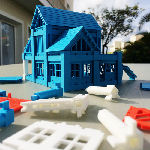 ​Printable Architectural Kit Series 2 3D Print 5414