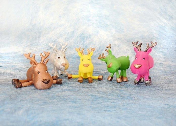 Articulated Christmas Toys 3D Print 54144
