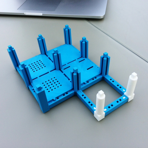 ​Printable Architectural Kit Series 2 3D Print 5415