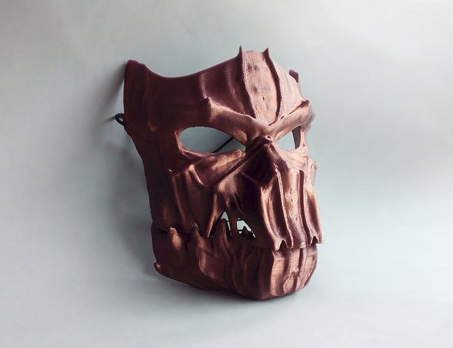 Dark Mask - Jointed 3D Print 54171