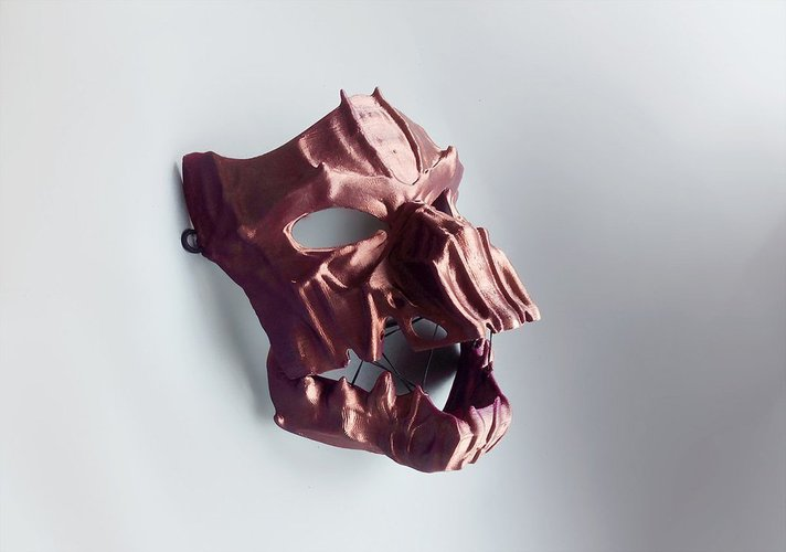 Dark Mask - Jointed 3D Print 54173