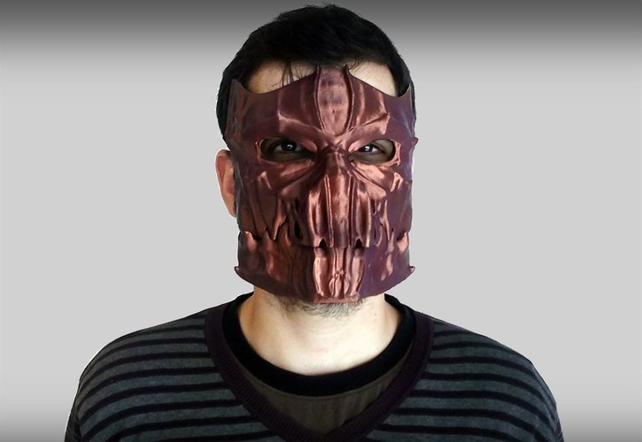 Dark Mask - Jointed 3D Print 54176