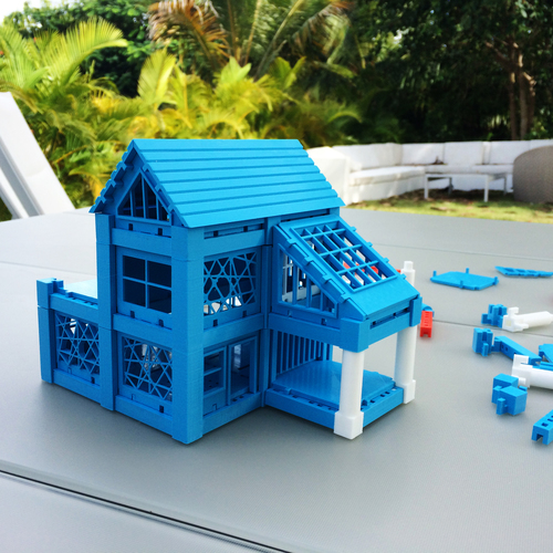 ​Printable Architectural Kit Series 2 3D Print 5418