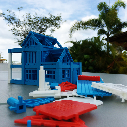 ​Printable Architectural Kit Series 2 3D Print 5419
