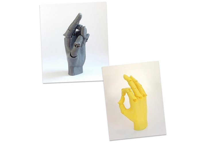 Jointed Hand 3D Print 54192