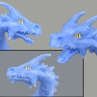 Small Articulated dragon mouth 3D Printing 54195