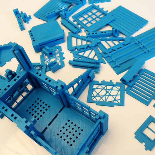 ​Printable Architectural Kit Series 2 3D Print 5420