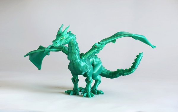 "Medium ""Braq""  jointed dragon 3D Printing 54200"