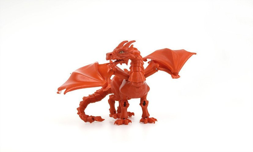 """Braq""  jointed dragon 3D Print 54203"
