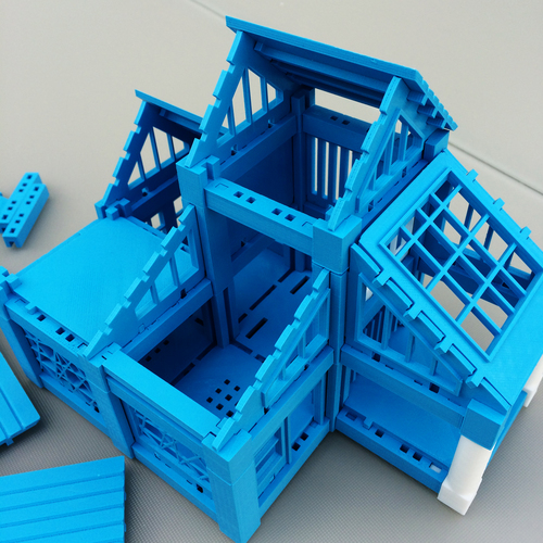 ​Printable Architectural Kit Series 2 3D Print 5421