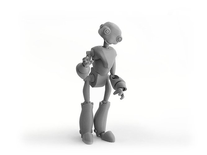 BeQui,  Jointed Robot 3D Printing 54234