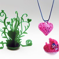 Small Valentines gift 3D Printing 54239
