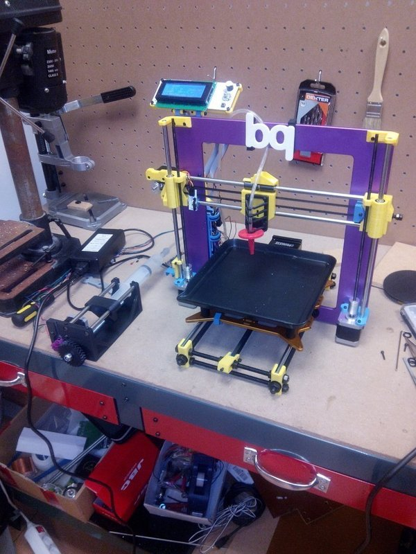 Medium Tortiprinter - Prusa i3 Update (El hormiguero) 3D Printing 54267