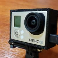Small GoPro Open Case 3D Printing 54376