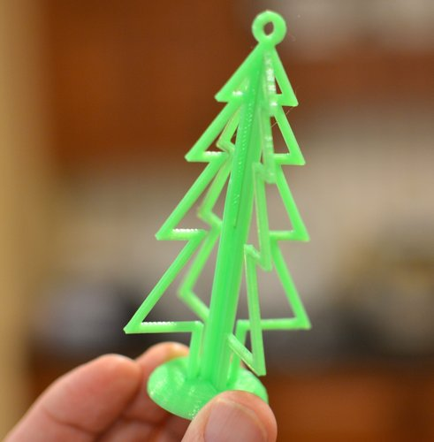 3D Holiday Tree: Decoration and Ornament 3D Print 54514