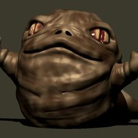 Small Rotta Jabba's Son 3D Printing 54528