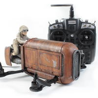 Small Star Wars Rey's Speeder Quadcopter 3D Printing 54703