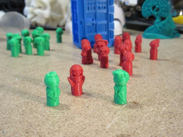 Medium Doctor Pawns Premium Pack - War, 12, and Vasta Narada 3D Printing 54780